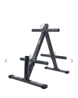 Fitness Gear Plate Tree/ Weight Plate Rack for Sale in Sully Station, VA