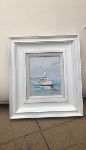 Small Boat Painting for Sale in Raleigh, NC