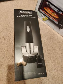 Wine opener, toaster oven and coffee maker for sale for Sale in Plano,  TX