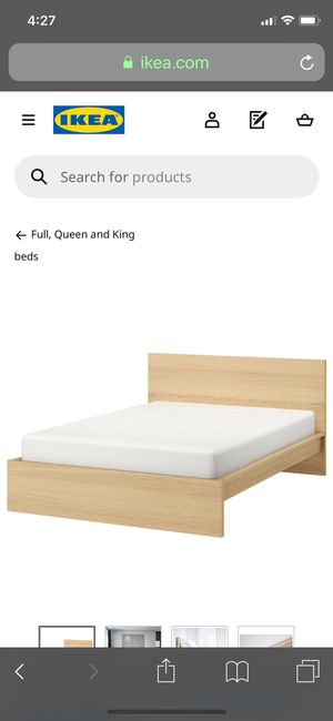 Queen Bed for Sale in Farmville, VA