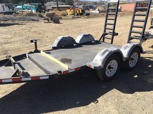2013 MMDI 10 ft equipment bobcat trailer w-Ramps 6900 lb capacity for Sale in Claremont, CA