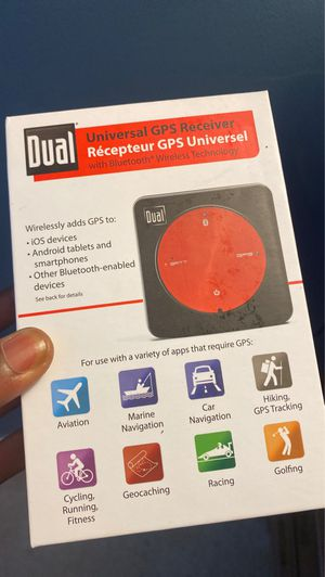 DUAL universal GPS receiver (Brand New) for Sale in Charlotte, NC