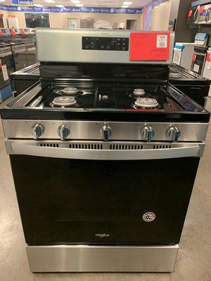 Brand New Whirlpool Gas Range..1 Year Manufacture Warranty Included for Sale in Chandler, AZ
