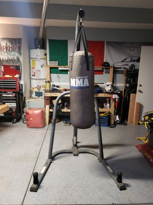 Punching bag with stand for Sale in Hemet, CA