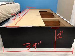 Twins size bed frame in great condition (local pickup only) for Sale in Alhambra, CA