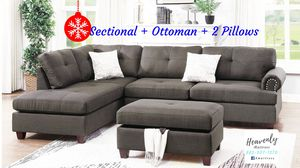 Sectional, Ottoman & Pillows for Sale in Haines City, FL