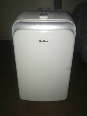BEST HOME PORTABLE AIR CONDITIONER IT COMES WITH THE HOSE AND CONTROL 14,000 BTUS $220 BLOWS COLD ICE AIR for Sale in Whittier, CA