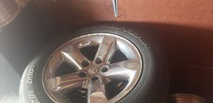 Dodge tire n rims for Sale in Sioux Falls, SD
