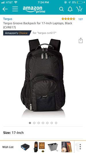 Targus CVR617 backpack laptop for Sale in Austin, TX