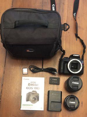 Canon rebel sl1 dslr for Sale in Berlin, MD