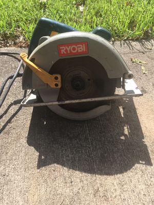 Ryobi circular saw for Sale in Reynoldsburg, OH