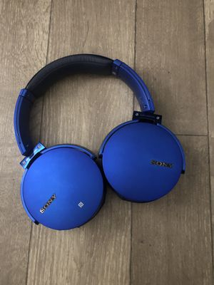 Sony Bluetooth Headphones for Sale in Tampa, FL