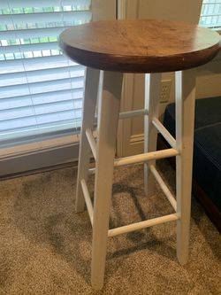 Set of wooden barstools for Sale in Arlington,  TX
