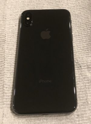 iPhone X Space Grey 64gb mint condition. This iPhone is factory unlocked and will work on any carrier, any where in the world. It is like new in mint for Sale in Staten Island, NY