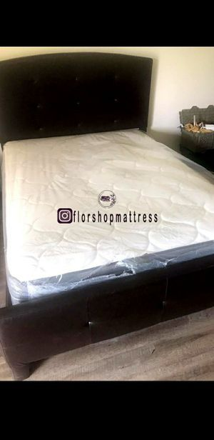 BRAND NEW QUEEN MATTRESS BED PILLOW TOP 🐇🎯 for Sale in HALNDLE BCH, FL