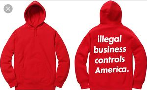 Supreme illegal business hoodie for Sale in South San Francisco, CA