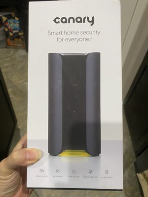 LIKE NEW Canary Indoor 1080p Wi-Fi Home Security Camera for Sale in Garland, TX