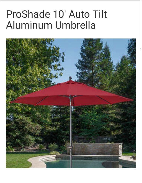 cbc15bcebad2c ProShade 10' Auto tilt Aluminum Umbrella for Sale in Modesto, CA ...