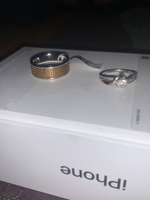 Men's and women's engagement/wedding rings for Sale in Seaford, DE