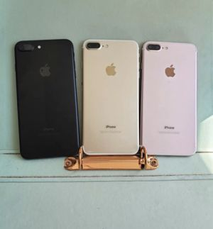 iPhone 7 Plus 32gb Unlocked Excellent Condition $269 each for Sale in Durham, NC