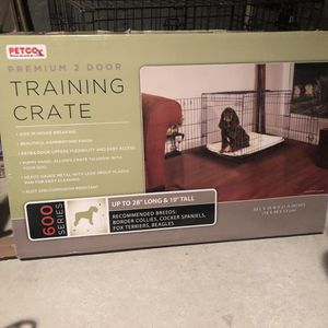 Dog training crate for Sale in Baltimore, MD