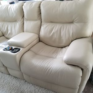 Real leather power recliners for Sale in Orange, CA