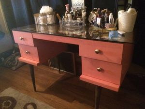 Mid modern desk - newly refinished for Sale in Oakland, CA