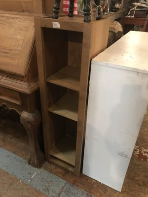 Wood small shelf 12 by 12 by 42 for Sale in San Diego, CA