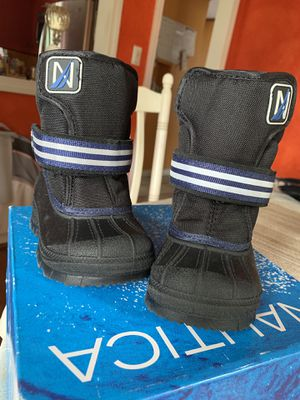 New Toddler Infant Boy's/ Girl's Nautica Insulated Winter Snow Boots Size 5 for Sale in Hartford, CT