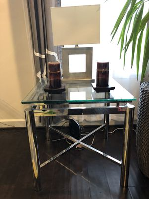 Coffee table and two accent tables for Sale in Leesburg, VA