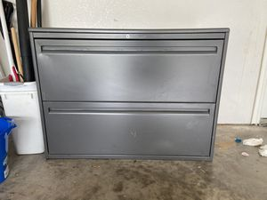 Steel case filing cabinet for Sale in Plano, TX