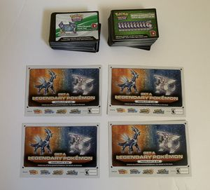 Pokemon Online Codes Total of 192 code Cards for Sale in Bethlehem, PA