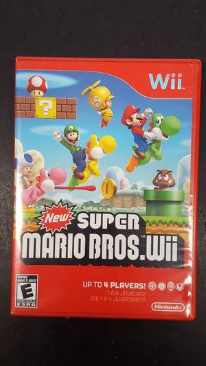NEW Super marios bros wii game nintendo for Sale in Starke, FL