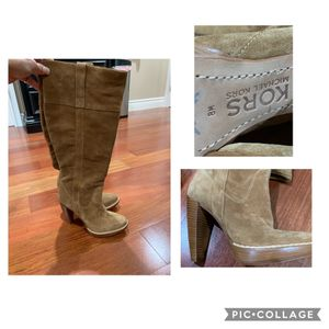 Michael Kors Suede Boots Size 8 NWT for Sale in Fairfield, CA