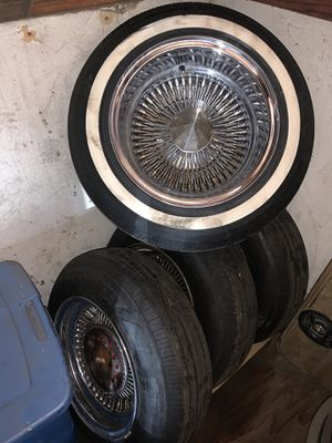 13x7 Wire Rims for Sale in Oxnard, CA