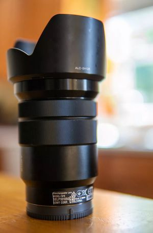 Sony E mount 18-105mm for Sale in Washington, DC
