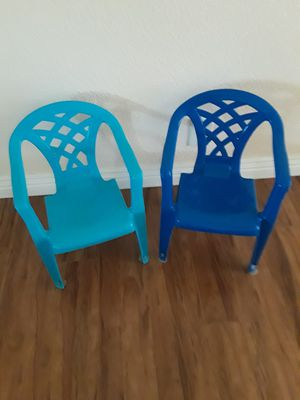 Chairs for kids, like new. for Sale in Riverside, CA