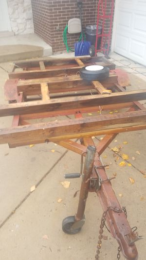 Cargo Utility trailer with title for Sale in Orland Park, IL
