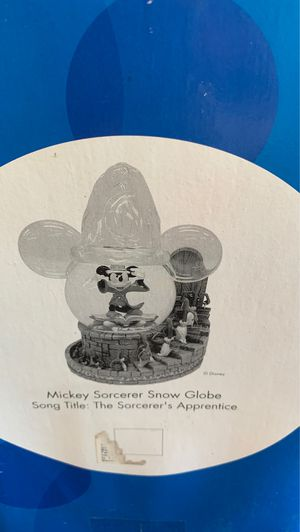 Mickey Mouse Sorcerer Snow Globe for Sale in Bell, CA