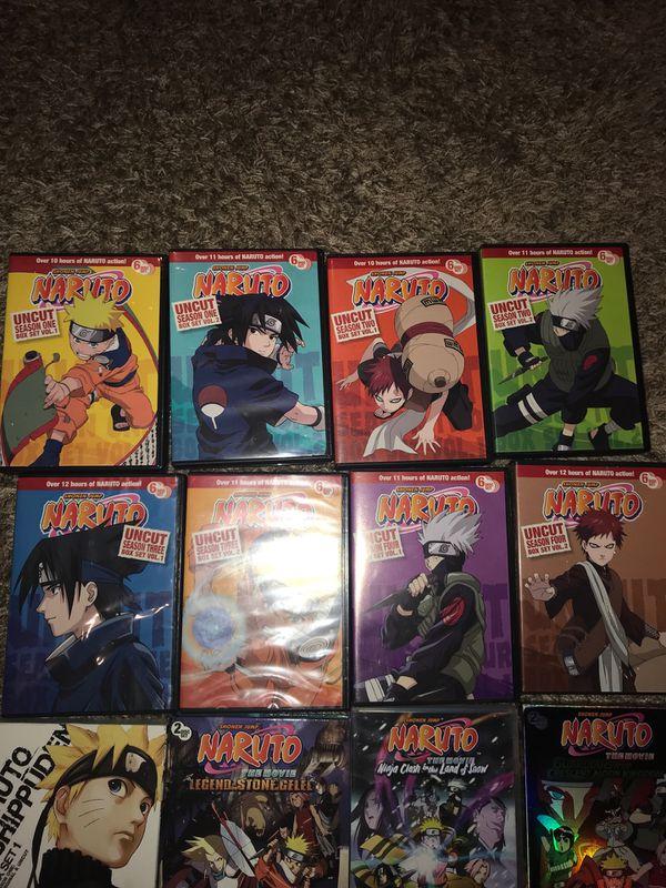 Naruto COMPLETE DVD set