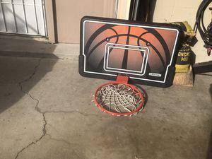 Basketball backboard and rim for Sale in Stockton, CA