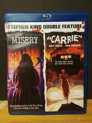 Stephen King double feature blu ray for Sale in Phoenix, AZ