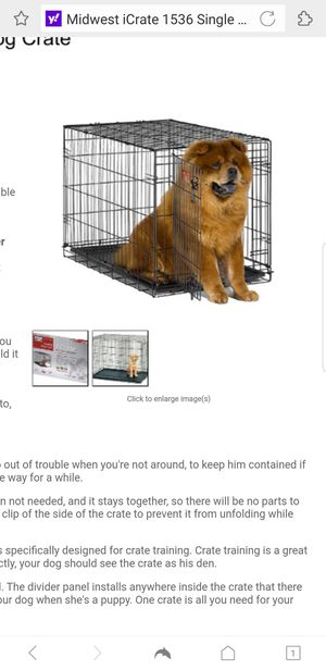 New Dog crate Midwest 36 L x 23w model for Sale in Akron, OH