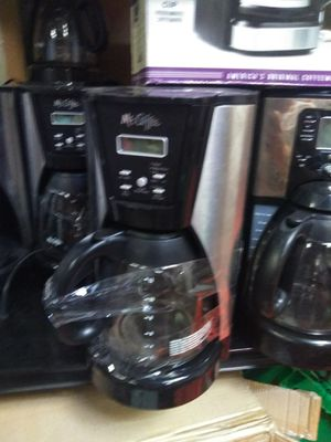 Mr coffee makers for Sale in Modesto, CA