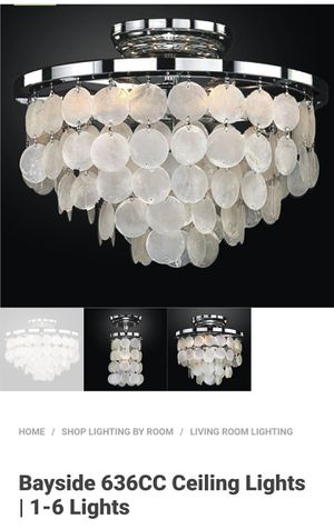 Bayside ceiling light fixture 16' for Sale in Fresno, CA