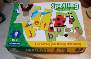 Brand new spelling match puzzle game for Sale in Appleton, WI