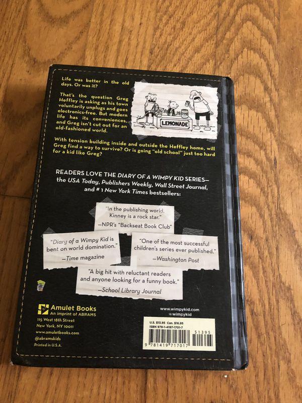 Diary of a Wimpy Kid Old School by Jeff Kinney