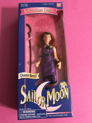 "Sailor moon Queen Beryl doll 6"" for Sale in Strongsville, OH"