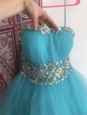 Quinceanera / Prom Dress - Baby Blue for Sale in Glendale, CA
