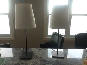 Two matching lamps for Sale in Revere, MA